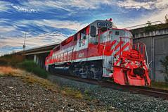 DUPONT TRAIN1 TOPAZ (dimes2) Tags: washington diesel engine trains locomotive dupont hdr
