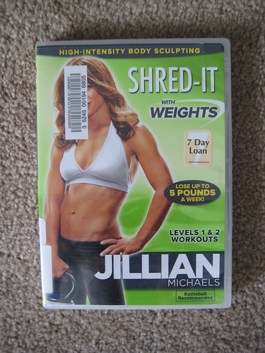 Jillian Shred-It with Weights