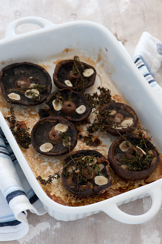 roast mushrooms