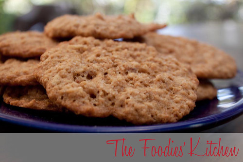 Oatmeal & Whiskey Cookies