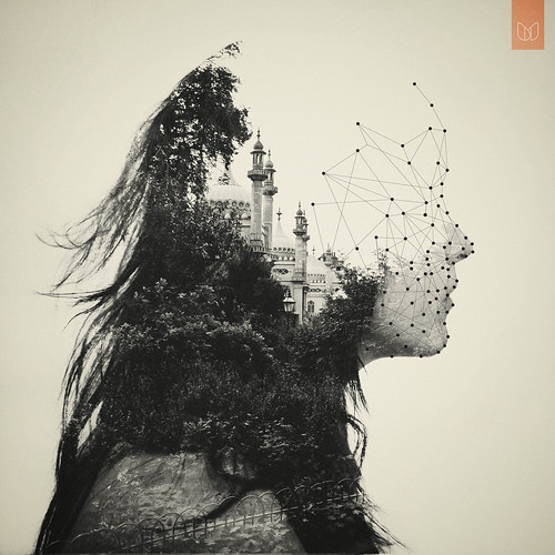 4000+ FAVS 100,000 views :) // Double exposure // Vector. / Dan Mountford