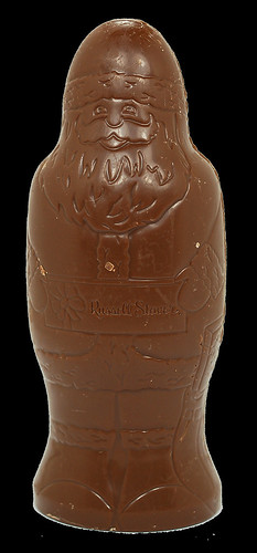 Russell Stover Milk Chocolate Hollow Santa