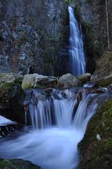 Hyakuhirono Waterfall #5 -百尋の滝@川苔山- (mukarin) Tags: mountain nature japan tokyo waterfall stream climbing 日本 東京 自然 山 滝 登山 18200mm d90 沢 川苔山 mtkawanori 百尋の滝 afsdxnikkor18200mmf3556gedvrii hyakuhironowaterfall