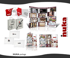 NUKA pack by D2works (dukk from D2works) Tags: bag logo carpet curtain pillow textile card brochure catalogue businesscard shoppingbag homecollection dukk