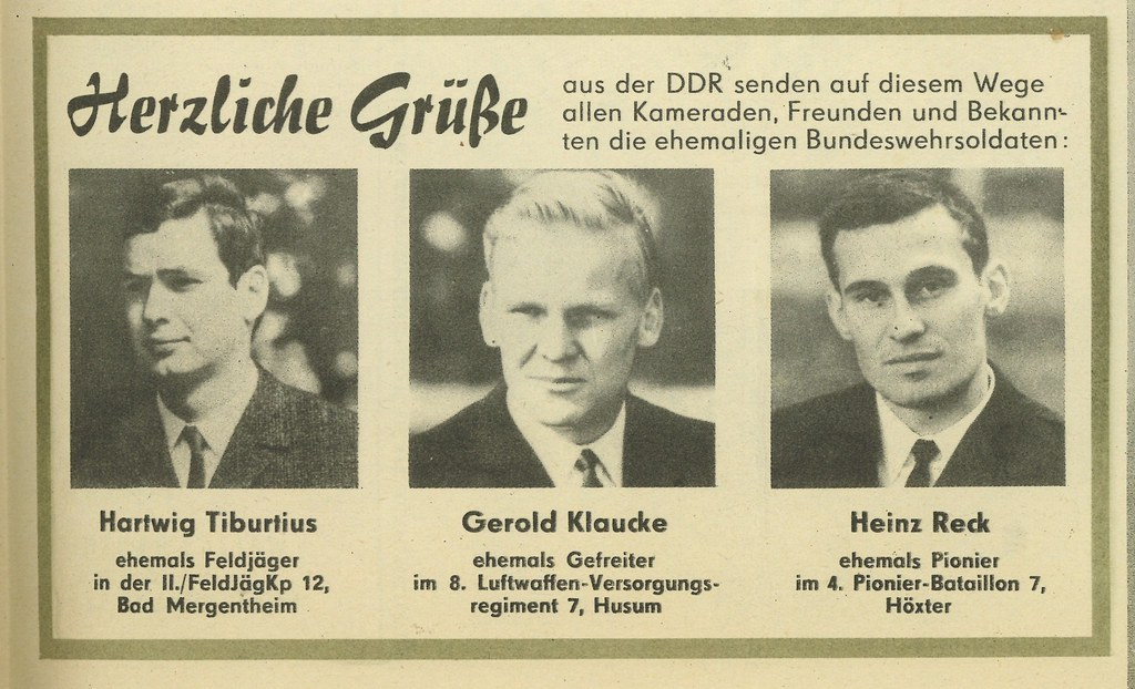 Herzliche Grusse as der DDR (Warm wishes from the DDR)