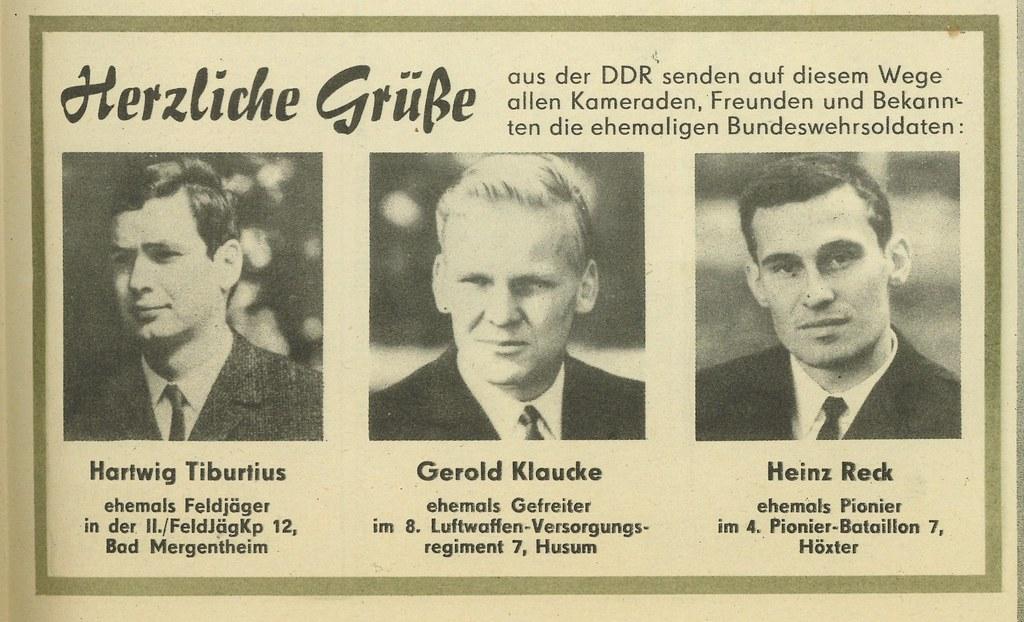 Herzliche Grusse as der DDR (Warm wishes from the DDR)