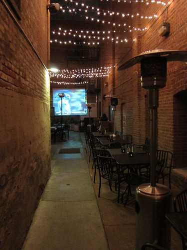 alley & outdoor seating