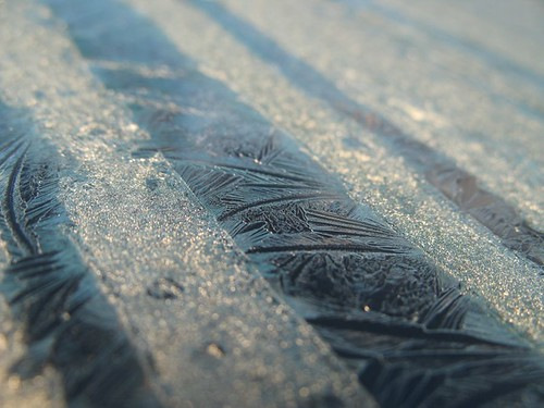 Frosty windscreen