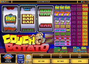 Couch Potato slot game online review