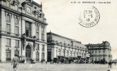 Bordeaux, la gare du midi