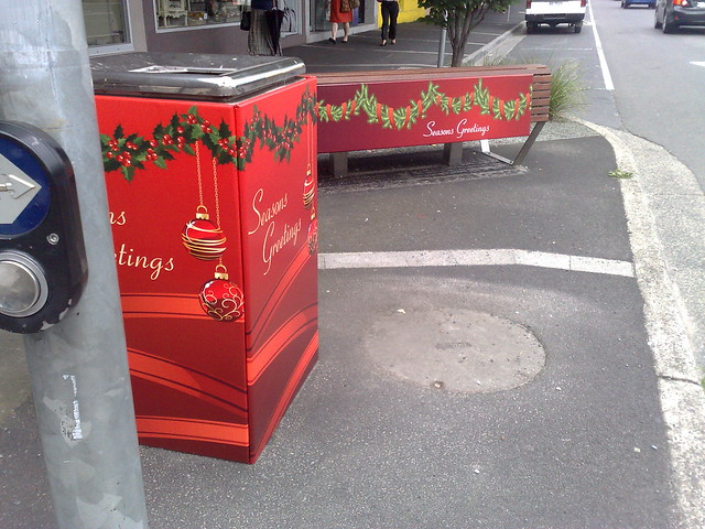 Beautiful Bentleigh bins and benches