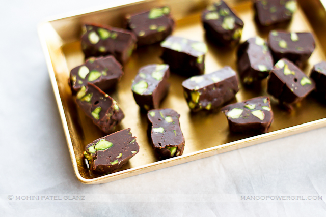 peppermint pistachio fudge