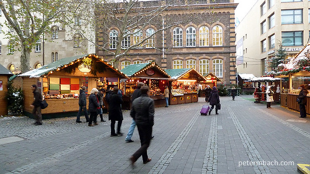A wintery week in Bonn, Germany