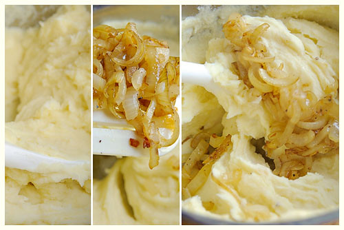 Potato and Caramelized Onion Puree