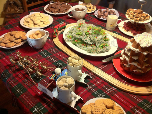 Cookie Party Table 2010