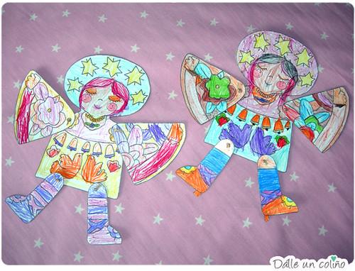 anxos de papel