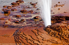 Champagne Geyser Closeup (IntrepidXJ) Tags: water utah desert greenriver geyser coloradoplateau sanrafaeldesert adventr bogley randylangstraat