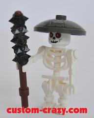 Tetsubo - Speckle Black-Silver 02 (Custom Crazy) Tags: castle lego ninja weapon samurai minifig minifigs custom weapons customcrazy tetsubo