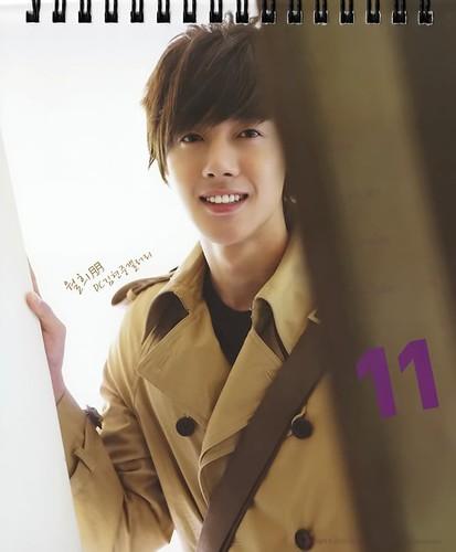 Kim Hyun Joong Hotsun 2011 Calendar 11