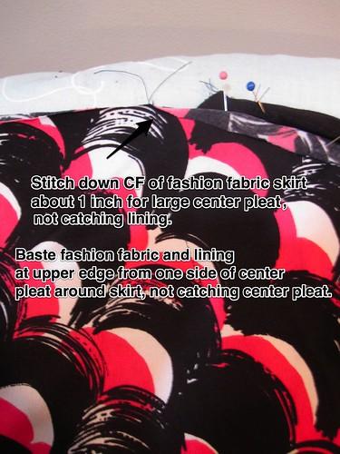 Sew CF Pleat