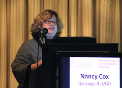 Prof Nancy Cox (GoldenHelix Symposia) Tags: institute research medicine genetic biomedical genomics symposia genome pharmacogenomics goldenhelix translational patrinosgeorge