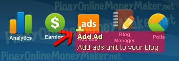 Add Nuffnang ad units to your blog - How to setup Nuffnang ads - PinayOnlineMoneyMaker.net