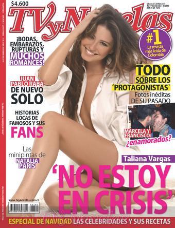 Taliana Vargas en TV y Novelas