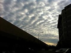 10 Muharram 1432 Hijrah - Day of Ashurah (axisofjustice) Tags: camera morning sunset cloud clouds sunrise photography evening singapore islam formation muharram singapura iphone ashurah