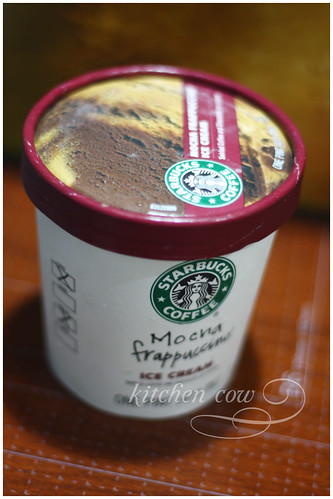 Starbucks Mocha Frappuccino Ice Cream