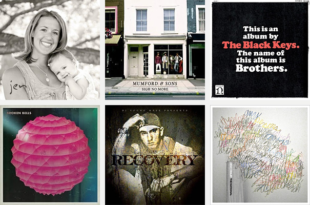 Top 5 Albums of 2010 - Jen Schaeffers