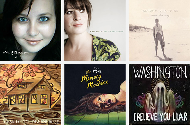 Top 5 Albums of 2010 - Megan Gorsch