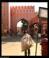 Rug-Picker (saish746) Tags: city pink india gate mahal bazaar jaipur nehru bazar rajasthan hawa bapu sanganeri goodtimesinthefastlane