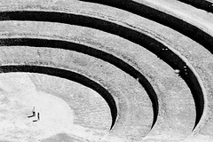 Agoraphobia (Universal Stopping Point) Tags: shadow peru lines site ancient circles curves sacredvalley moray archeological incan