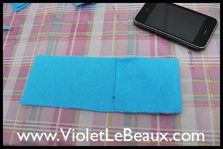 Tutorial- Felt iPhone Case