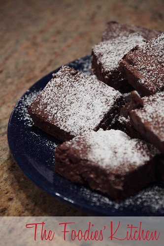 Fudgy Light Mocca Brownies