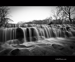 Sharon Woods Waterfall on a Cold Afternoon - {Explored - 12/18/2010 - 358} (ckfishel2001) Tags: park longexposure blackandwhite bw white black nature water canon waterfall spring cincinnati parks falls tokina explore 7d 100views 200views sharonwoods 10favs explored nond hamiltoncountyparks 1116mmf28