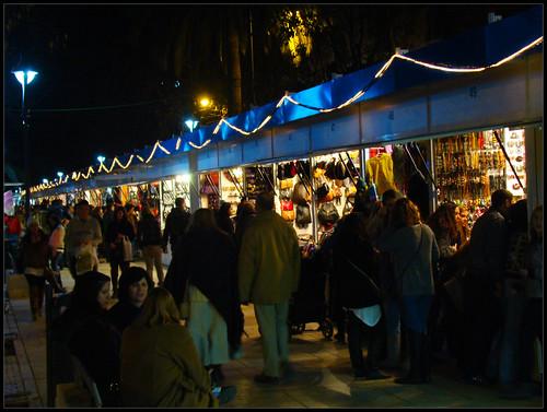 Mercadillo navideño Málaga
