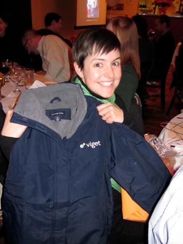 Carolyn loves her jacket