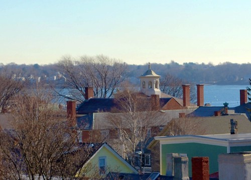 View to the Salem Customs House