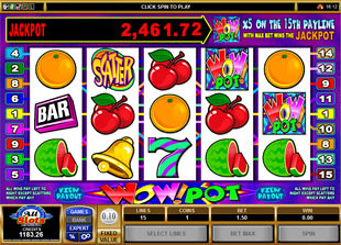 Wow Pot 5-Reels slot game online review