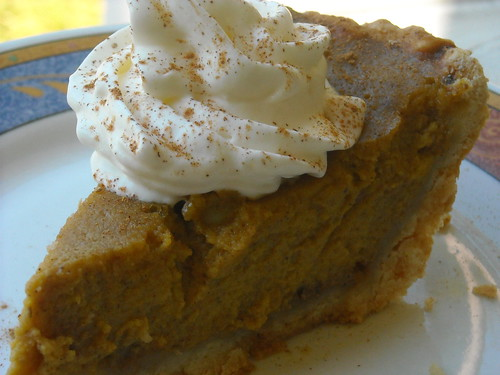 Home Made Pumpkin Pie