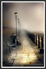 WATERFRONT (Derek Hyamson) Tags: mist fog liverpool waterfront hdr mersey albertdock hazysunshine
