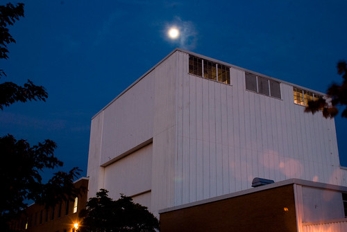 Moon over Building 5
