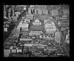 Columbia University, New York City, New York (New York State Archives) Tags: city newyork college university manhattan columbia aerial morningsideheights