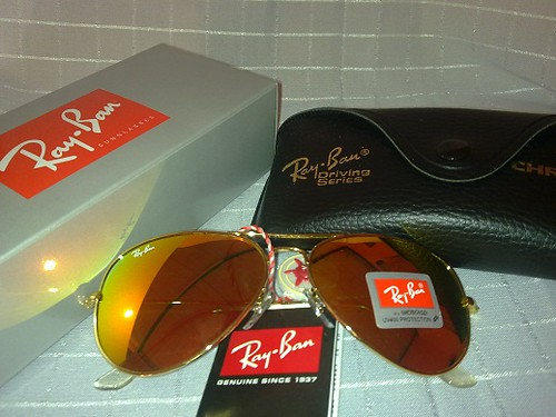 Aviator limited edition iridium
