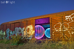 Ball of Light - Hobo Balls (biskitboy) Tags: lighting longexposure nightphotography light colour art beautiful canon ball circle lights graffiti amazing globe rust colorful nightlights nightshot steel orb balls tags led railcar sphere nz round nights 5d sa brightcolors colourful kiwi orbs tagging southaustralia brightness lightgraffiti circular brightcolours lightart balloflight canonslr lightball lightstream lightwand paintinglight canon5dmkii lightjunkies lightjunkie 5dmkii canon5dmk2 5dmk2 balloflightlightpainting lightjunkiesbright biskitboy