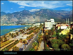 skenderun, Hatay (Yavuz Alper) Tags: sea mountains hot beach postcard 70s mediterraneansea humid akdeniz hatay mild iskenderun irin scak kartpostal kunefe knefe dalar amanos 1970ler southernpartofturkey
