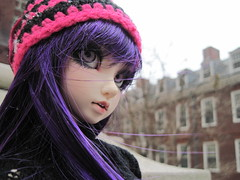 ADAW 48/52 Maida- snow day (miss_skittlekitty) Tags: winter hair purple bjd projects luts soony delf cerberus