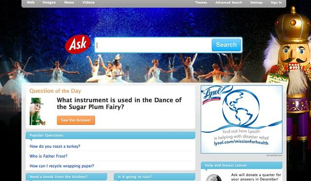 Ask.com Christmas Day