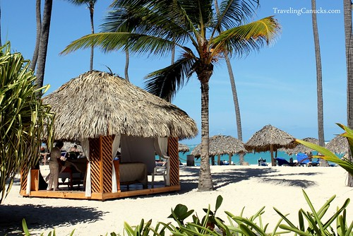 Massage on the Beach in Punta Cana, Dominican Republic